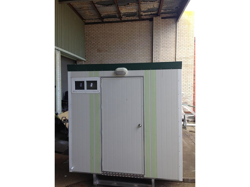 e i group portables 2.4m x 2.4m twin pan double portable building. 368112 001