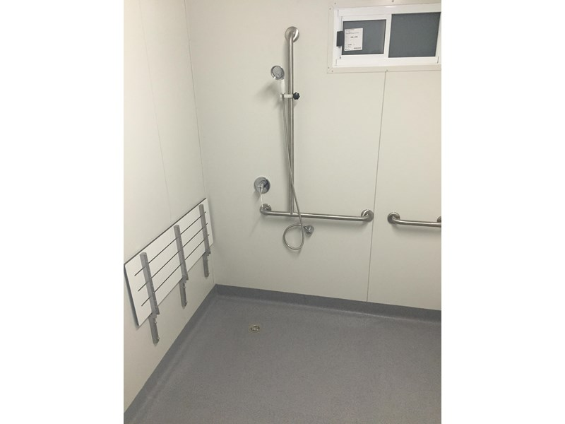 e i group portables compliant 2.4m x 2.4m disabled shower 368124 004
