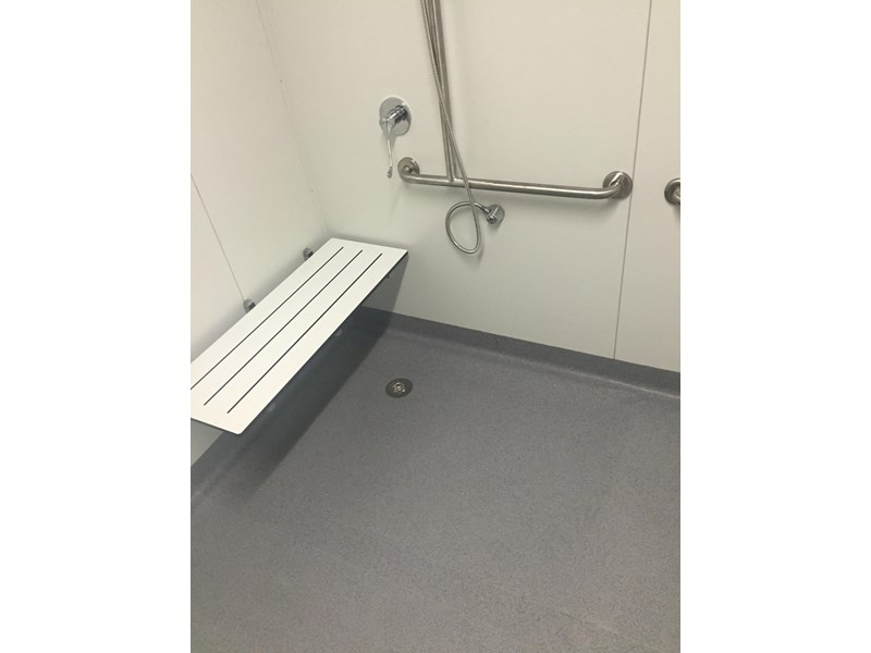e i group portables compliant 2.4m x 2.4m disabled shower 368124 005