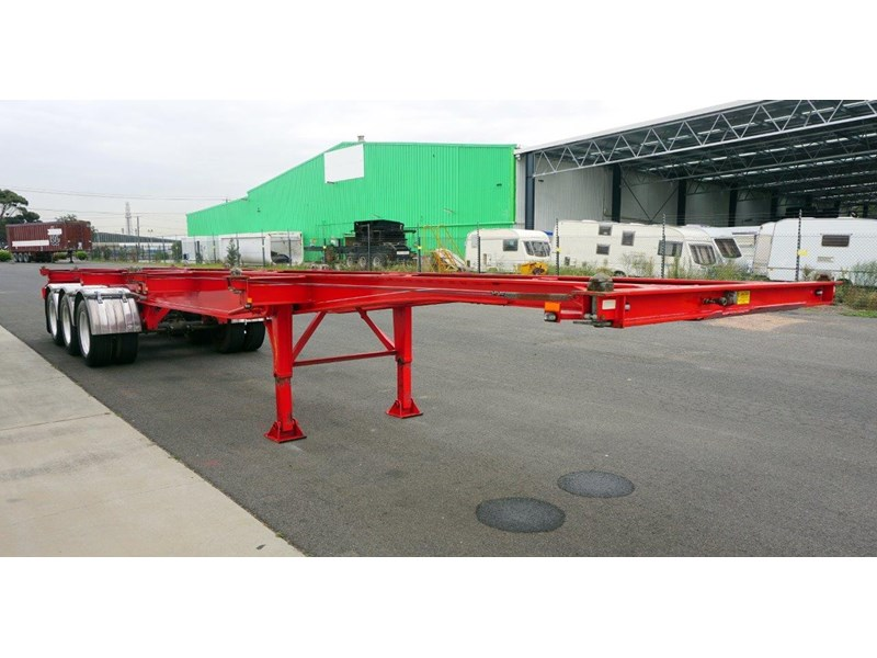 reids 40ft tri-axle skel trailer 365018 002