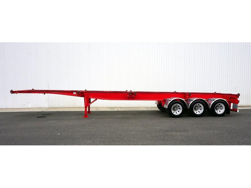 reids 40ft tri-axle skel trailer 365018 008