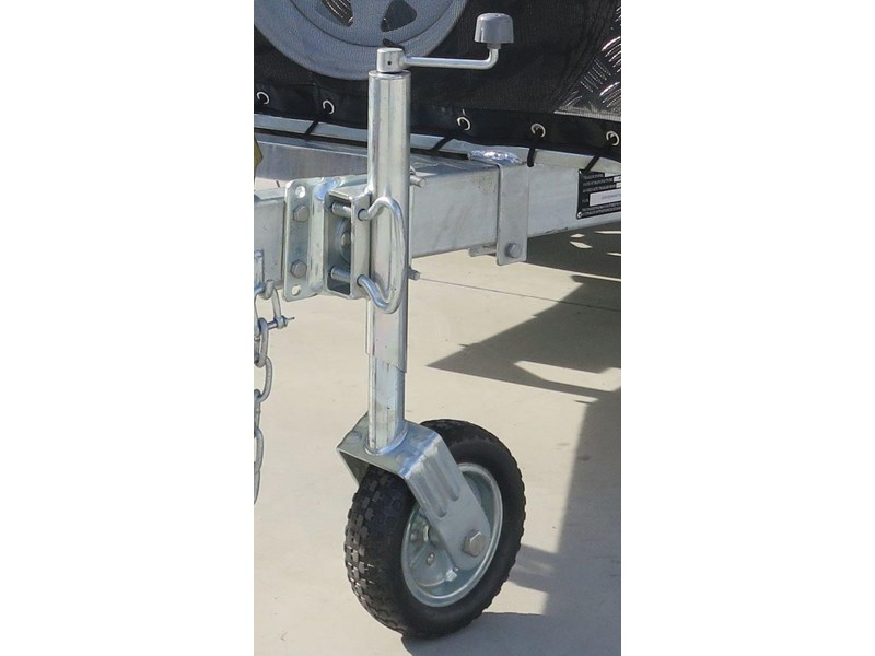 other 10'' solid tire jockey wheel 371427 001