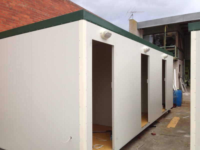 e i group portables 7.2m x 3m three room accommodation 371539 004