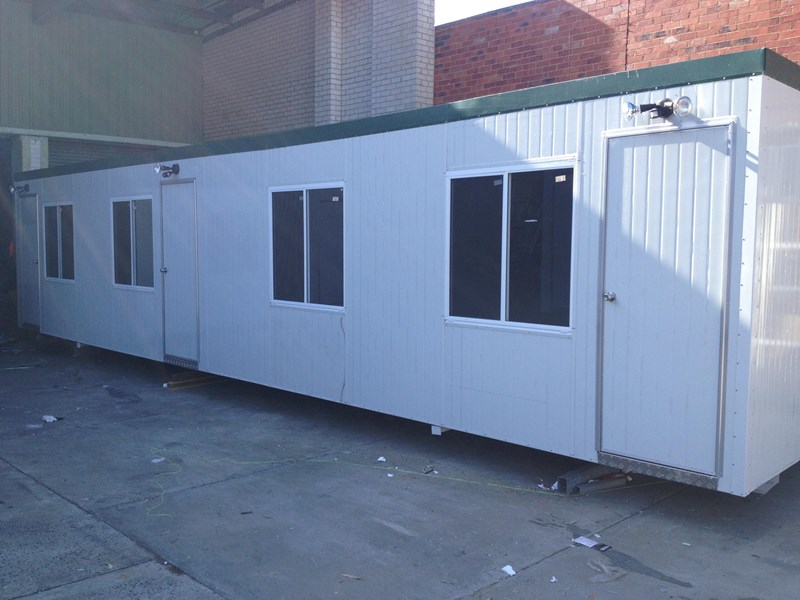 e i group portables 12m x 3m three room accommodation site 371553 002