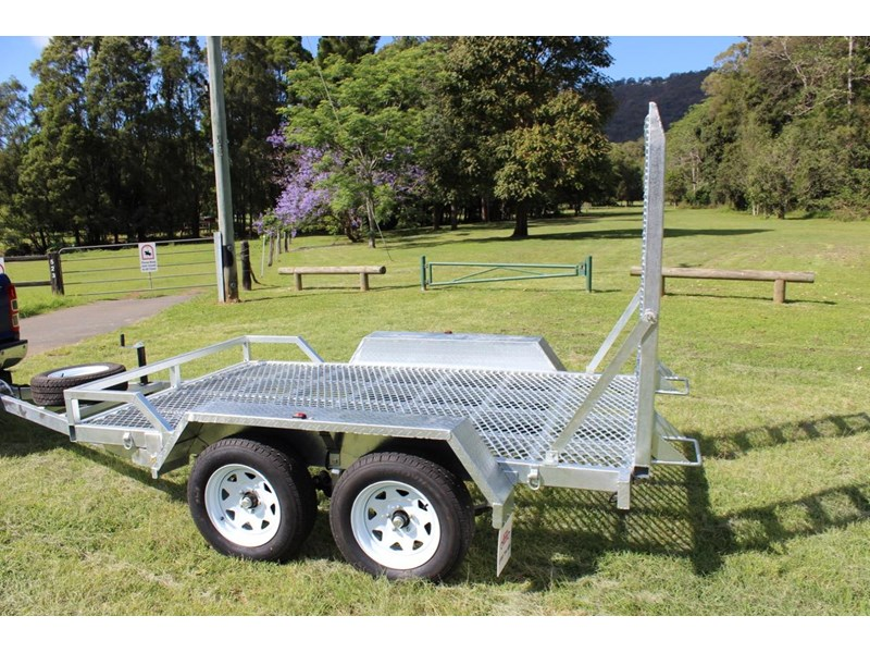 carter yanmar powered zero swing with plant trailer 374048 004