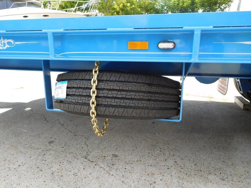 interstate trailers 9 ton heavy duty container trailers / flatbed trailers - suit 20ft container [attttrail] 374130 007