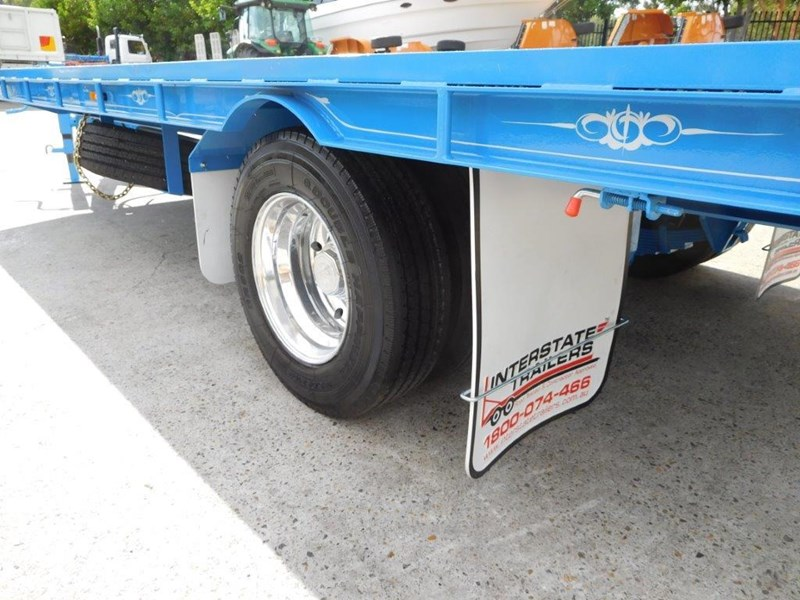 interstate trailers 9 ton heavy duty container trailers / flatbed trailers - suit 20ft container [attttrail] 374130 006