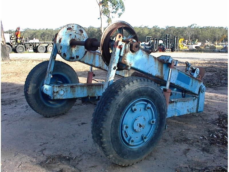custom made cable reel/drum trailer 374496 005