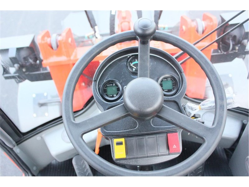 everun everun er16 wheel loader with three attachments 374570 024