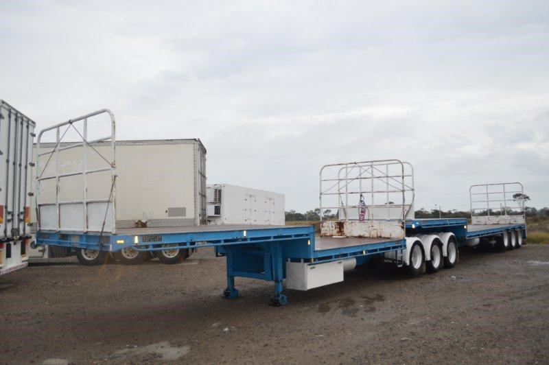 topstart st3 tri axle 32 pallet drop deck open b double 374784 001