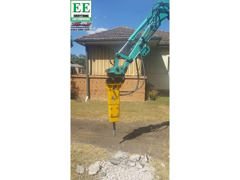 indeco hp200 whisper rock breaker from everything earthmoving 356955 018