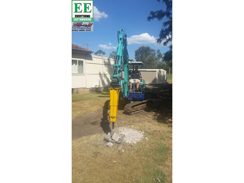 indeco hp200 whisper rock breaker from everything earthmoving 356955 015