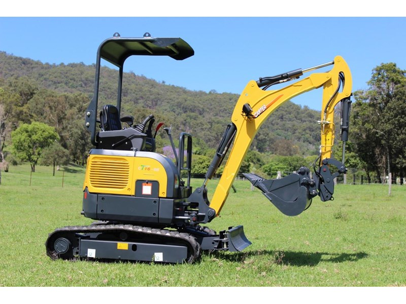 carter mini excavator ct16 yanmar powered with plan trailer 376694 024