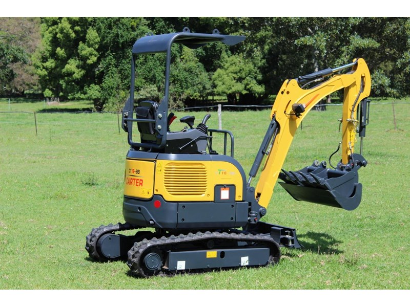 carter mini excavator ct16 yanmar powered with plan trailer 376694 031