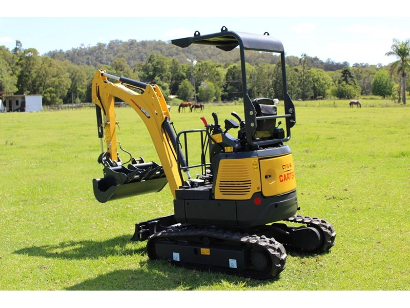 carter mini excavator ct16 yanmar powered with plan trailer 376694 033