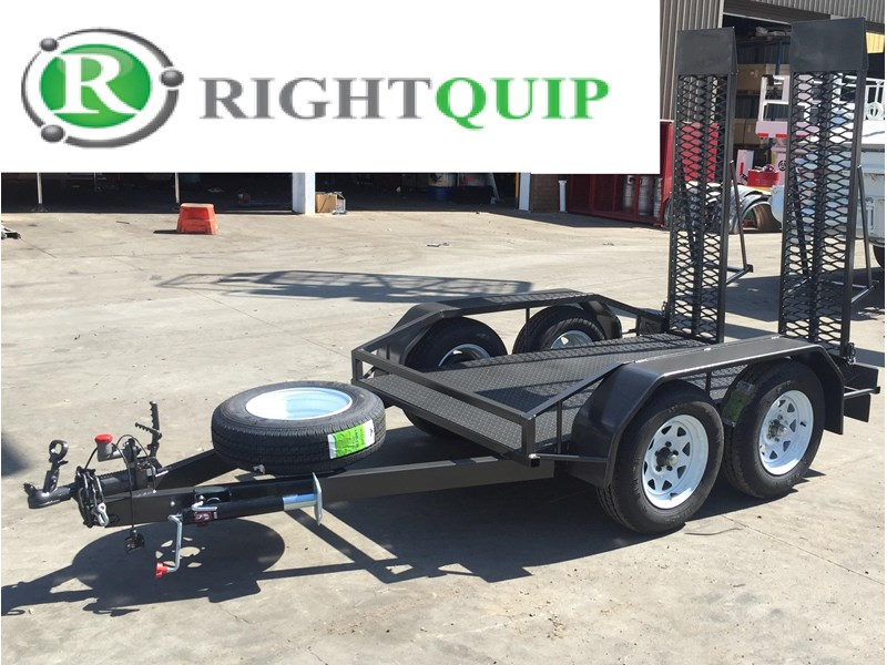 rightquip 19' scissor lift trailer 373880 002