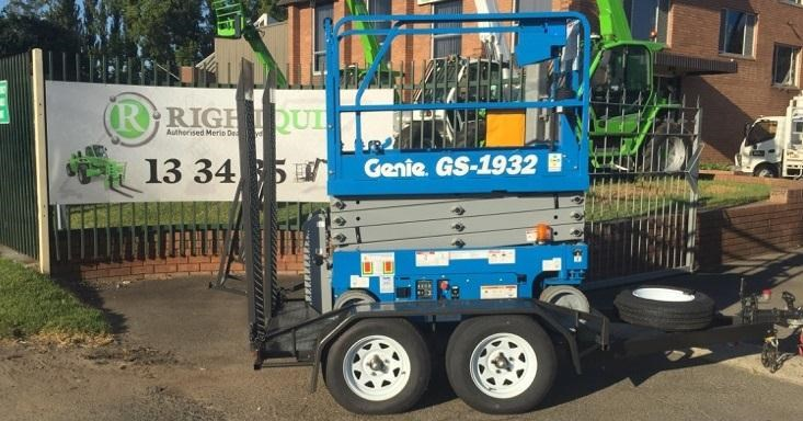 rightquip 19' scissor lift trailer 373880 004