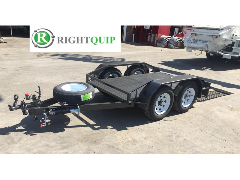 rightquip 19' scissor lift trailer 373880 007