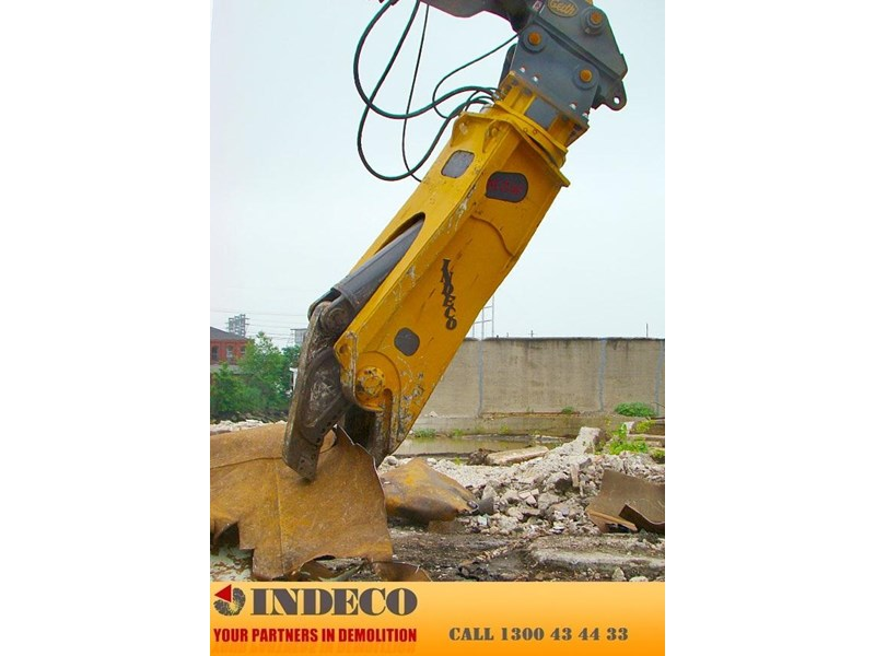 indeco irp750 rotating pulveriser (13 to 25 tonne) 376895 013