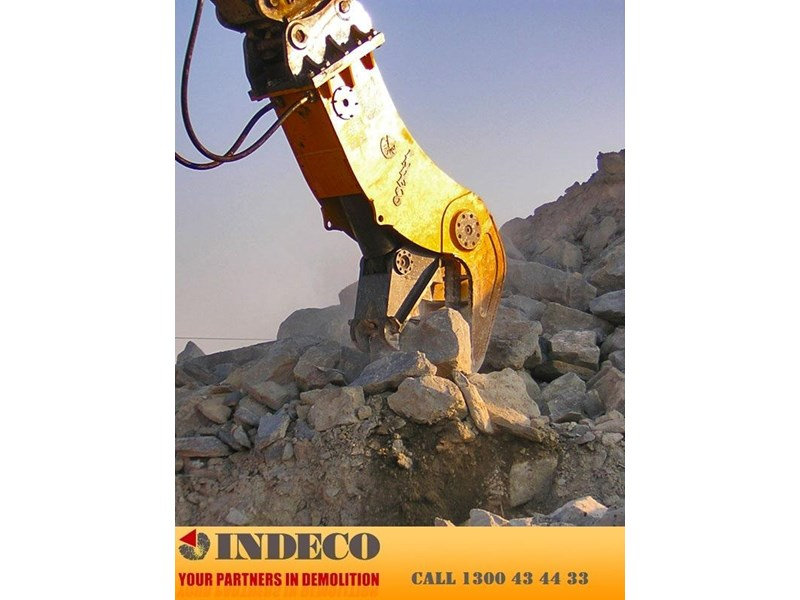indeco irp850 rotating pulveriser (16.5 to 32 tonne) 376898 008
