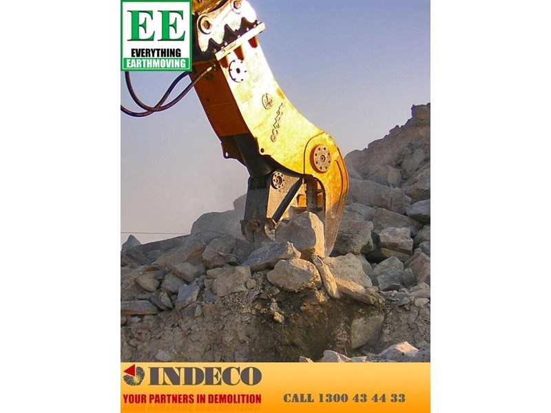 indeco irp1250 rotating pulveriser (30 to 57 tonne) 376902 010