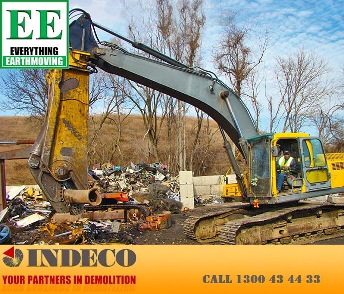 indeco irp1250 rotating pulveriser (30 to 57 tonne) 376902 027