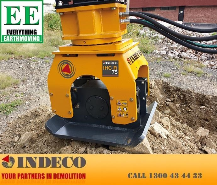 indeco irp750 rotating pulveriser (13 to 25 tonne) 376895 039