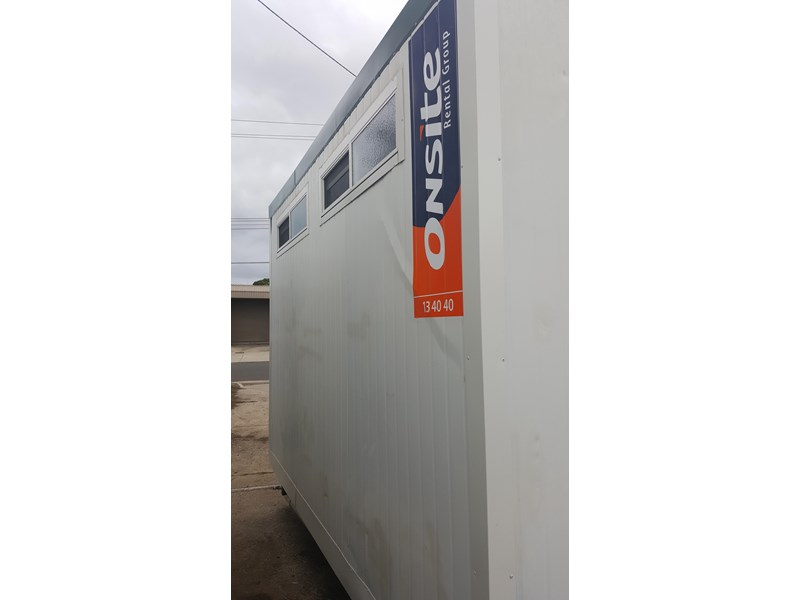 e i group portables used 3.6m x 3m ablution 378368 003