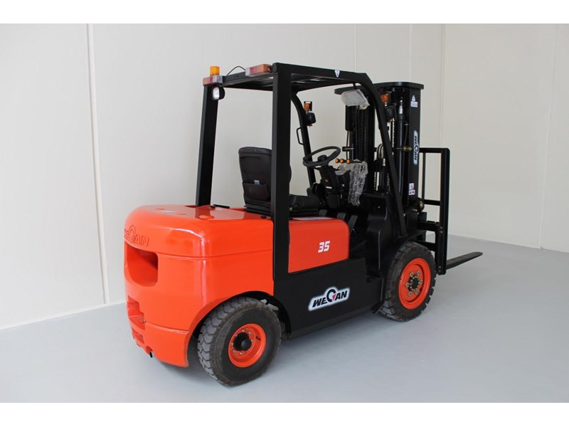 wecan forklift with 3 stage mast container 378369 004