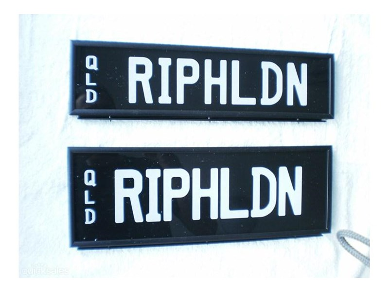 number plates riphldn 378578 001