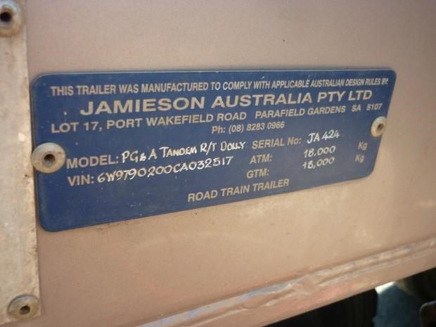 jamieson dolly bogie axle road train dolly 380775 010