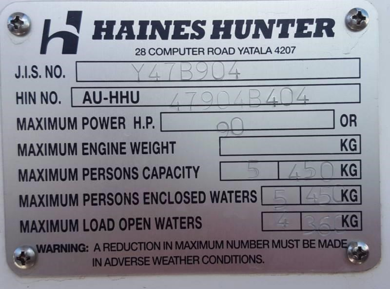 haines hunter 470 breeze 392843 005