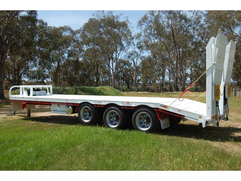 northstar transport equipment tri axle tag trailer 382798 002