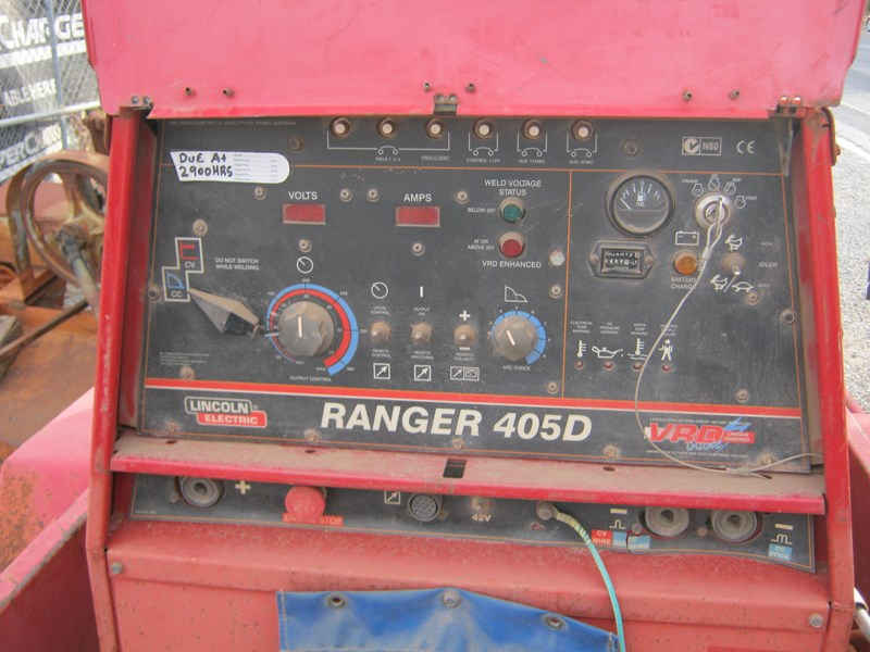 lincoln 405d electric welder generator 383369 005