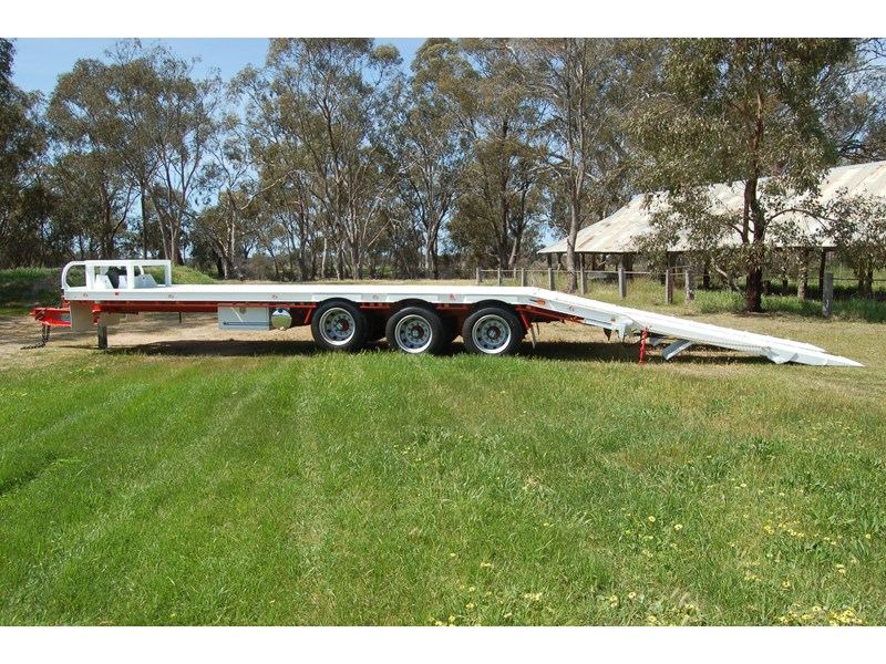 northstar transport equipment tri axle tag trailer 384826 008