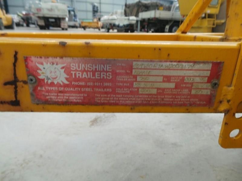 sunshine trailer arrow board 289003 015