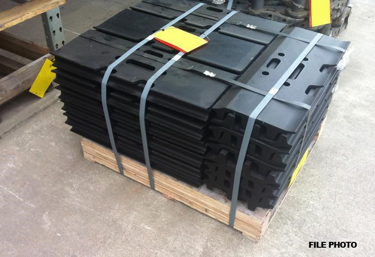 hitachi zx470 800mm track plates 390762 001
