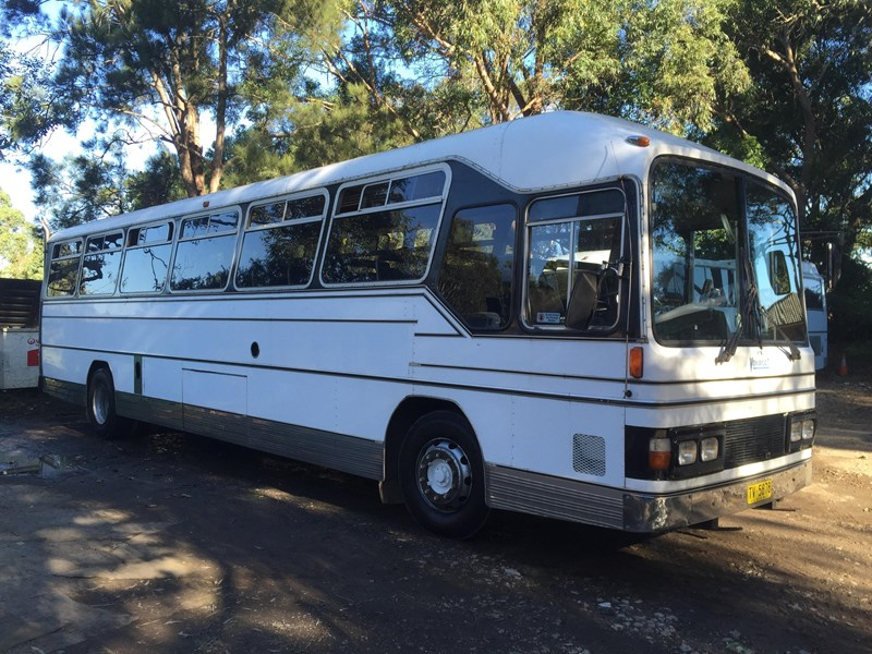 mercedes-benz oc1617 bus, 1985 model 393735 002