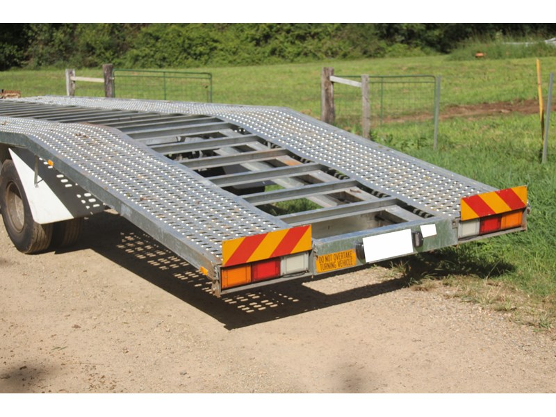 mgc engineering 2 car carrier trailer 393900 004
