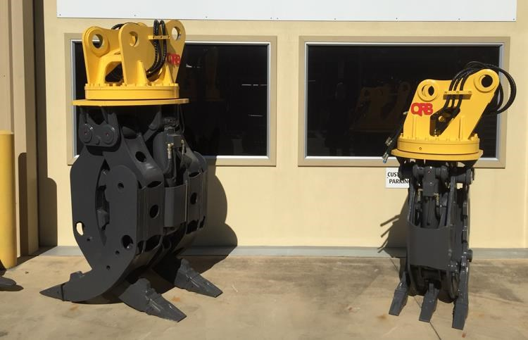 caterpillar caterpillar hydraulic rotating grabs 394371 001