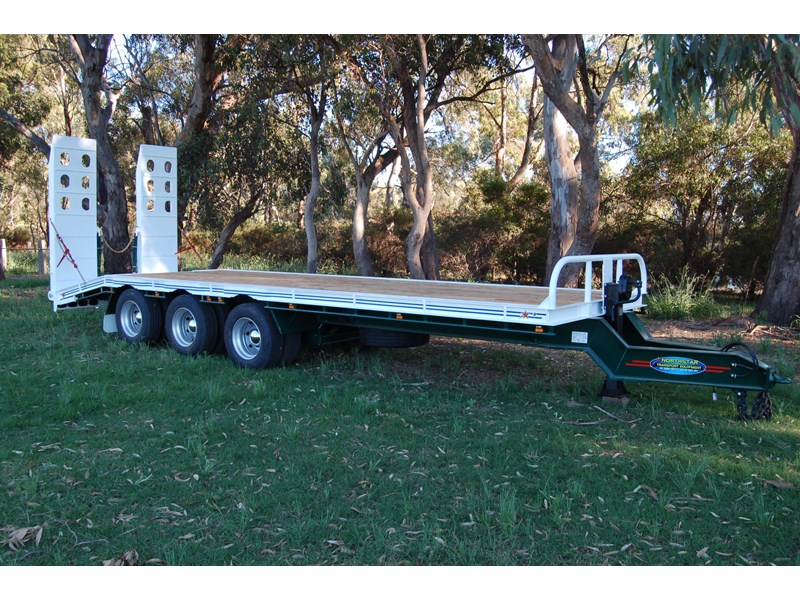 northstar transport equipment tri axle tag trailer 394600 001
