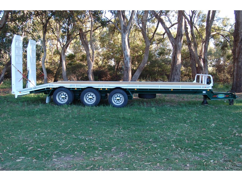 northstar transport equipment tri axle tag trailer 394600 002