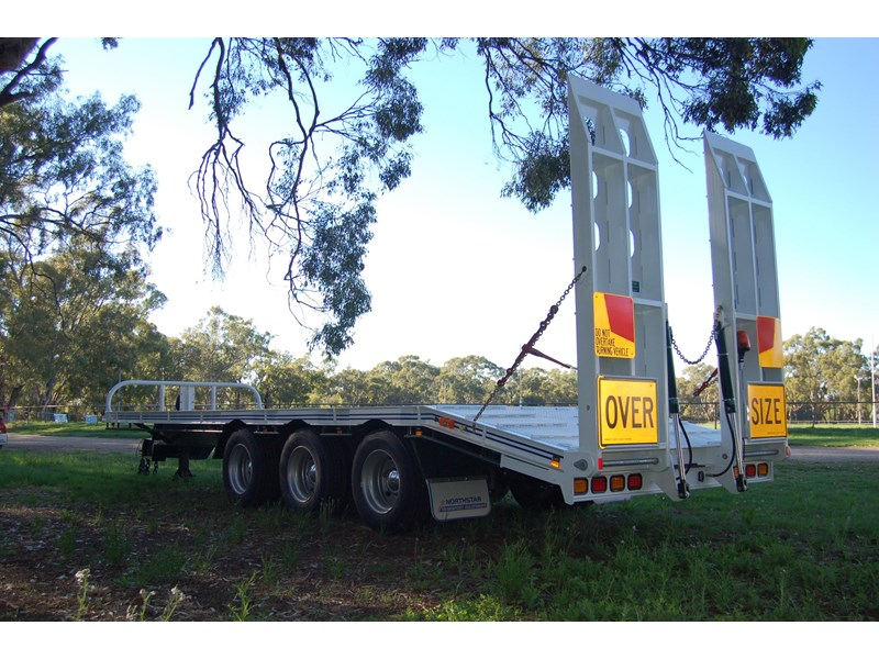 northstar transport equipment tri axle tag trailer 394600 004