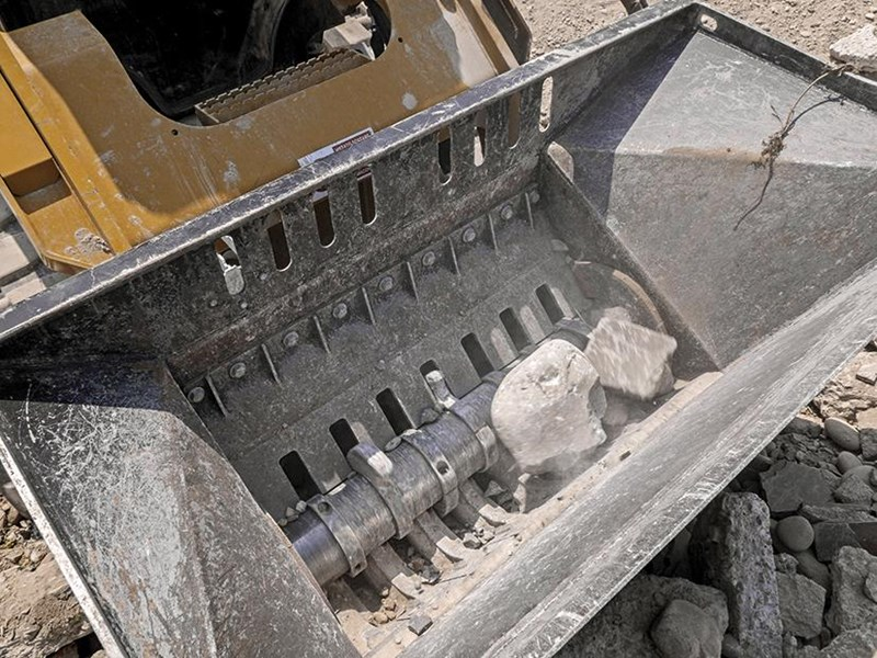 simex cb800 loader crusher buckets 394638 006