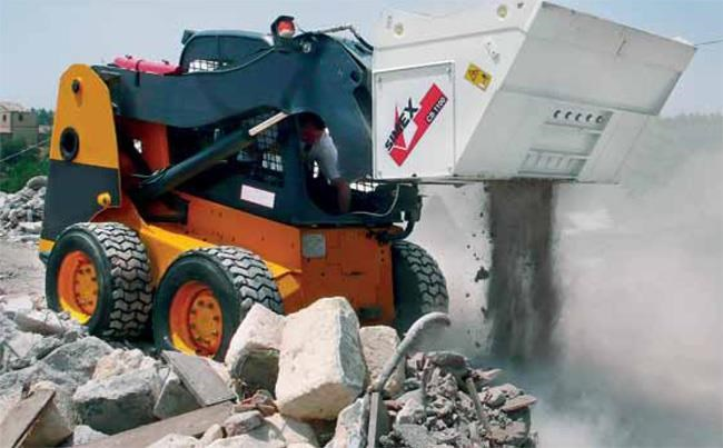 simex cb800 loader crusher buckets 394638 008