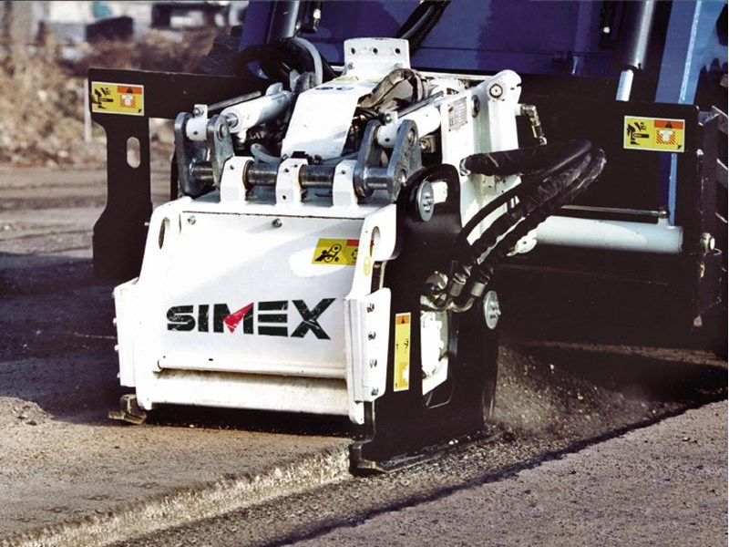 simex pl25.10 self levelling planer 394856 001
