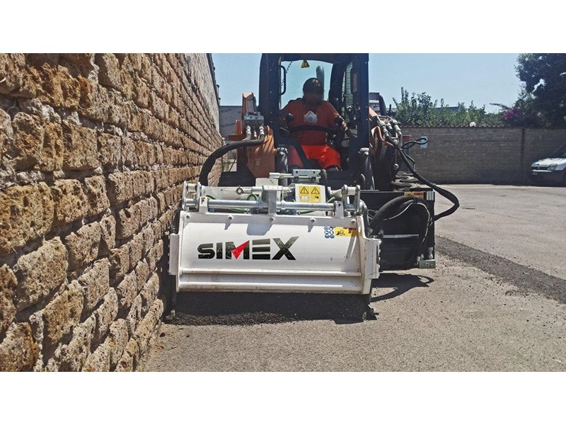simex pl25.10 self levelling planer 394856 005