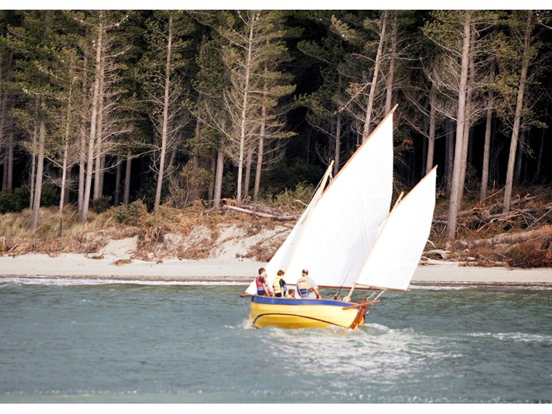 2010 JOHN WELSFORD WHALER yawl for sale