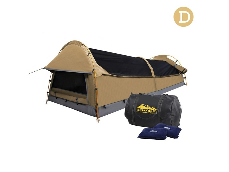 weisshorn double canvas swag tent 396024 002