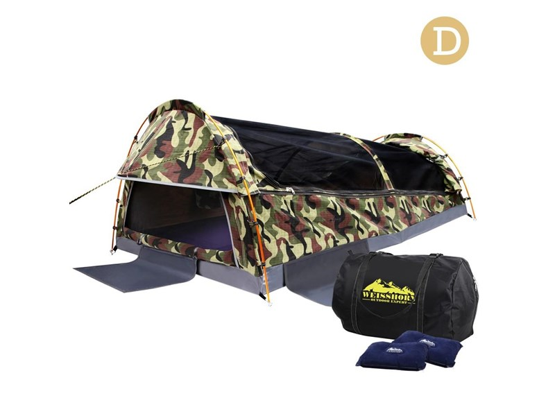 weisshorn double canvas swag tent 396024 005